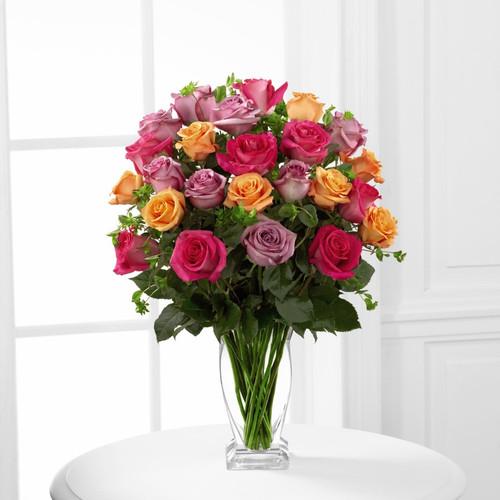 The FTD® Pure Enchantment™ Rose Bouquet - Premium
