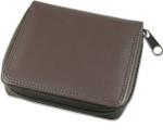 Men's Zippered Wallets Brown