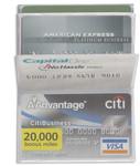 wallet inserts fanned