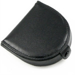 Horse Shoe Men's Leather Coin Purse with Snap