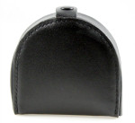 Horse Shoe Leather Coin Purse with Snap closed