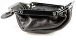 leather change purses brown