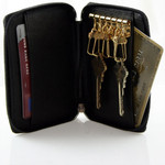 Key Case with Credit Card Pockets