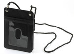 Leather ID Holders with Neck Cord
