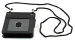 Leather ID Holders with Neck Cord Profile