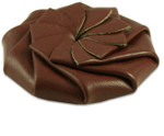 easy squeeze coin purse brown