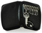 Osgoode Marley 8 Hook Zipper Key Case with Valet Open Card Case