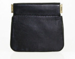 Facile Squeeze Coin Purse with Front Pocket Front