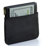 Facile Squeeze Coin Purse with Front Pocket