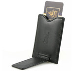 Money Clip Open and Center Pocket