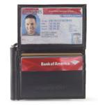 t fold money clip wallet for men