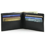 Slim Bifold Wallet with 6 card slots