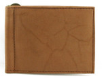 Leather Money Clip Tan