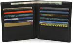 Open Twelve Pocket Hipster Wallet