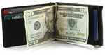 Z Card Double Money Clip Wallet - Black