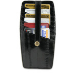 Eel Credit Card Holders with Strap