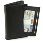 Buxton RFID ID Trifold Wallet with Pull Out Card Case