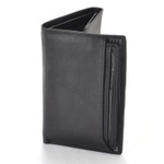 Buxton RFID ID Trifold Wallet with Pull Out Card Case - Front