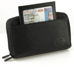 Buxton Heiress Double Zip Indexer Wallet ID