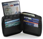 Osgoode Marley Pass Case Men's Zipper Wallet - ID