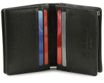 Osgoode Marley Gusset Card Case with Extra Page Open