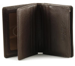 Osgoode Marley Gusset Card Case with Extra Page - Espresso