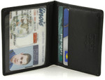 Buxton RFID Deluxe Two-Fold Wallet - Removable Card Case
