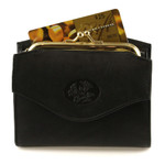 Buxton Heiress French Purse with Accordion Card Case