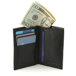 RFID Credit Card and ID Holder with Extra Compartment