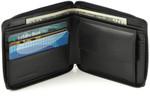 Men's Zipper Wallet with Coin Pocket