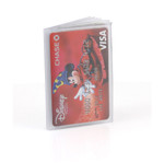 Trifold 8 Page Credit Card Plastic Wallet Insert