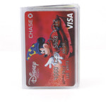 Credit Card Plastic Wallet Insert Front