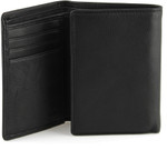 Tri Fold Wallet Opening - Black