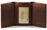 Tri Fold Wallets - Brandy