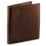 Osgoode Marley RFID Mens Leather Hipster Wallet - Brandy