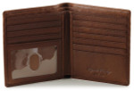 Hipster Wallets for Men with RFID - Brandy