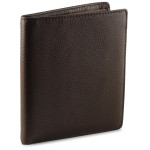 Hipster wallet for men - Espresso