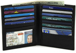 Multi-Card Double High Hipster Wallet