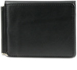 Mens Wallet with Money Clip Closed