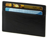 Credit Card Holder with ID Back Black
