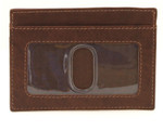 Credit Card Holder with ID Front Toffee