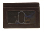 Credit Card Holder with ID Front Brown