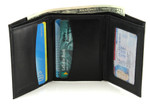RFID Trifold Wallet with Vertical Pockets