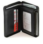 Zip Around Wallet Open