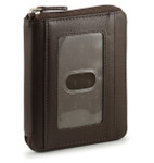 Zip Around Wallet - Brown