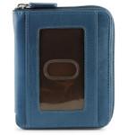 Zip Around Wallets - Jeans Blue