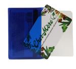 Wallet Insert Card - Blue