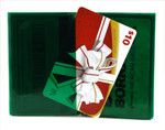 Wallet Insert Card - Green