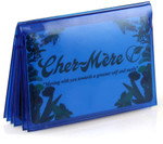 Blue Bifold Wallet Insert