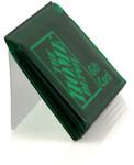 Green Blue Bifold Wallet Insert